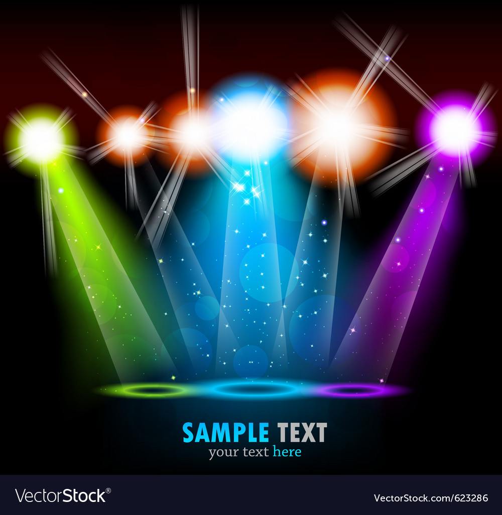 Bright background vector image