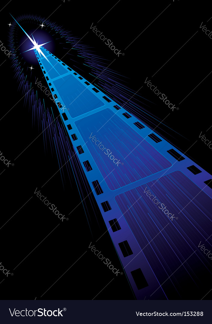 Film strips background vector image