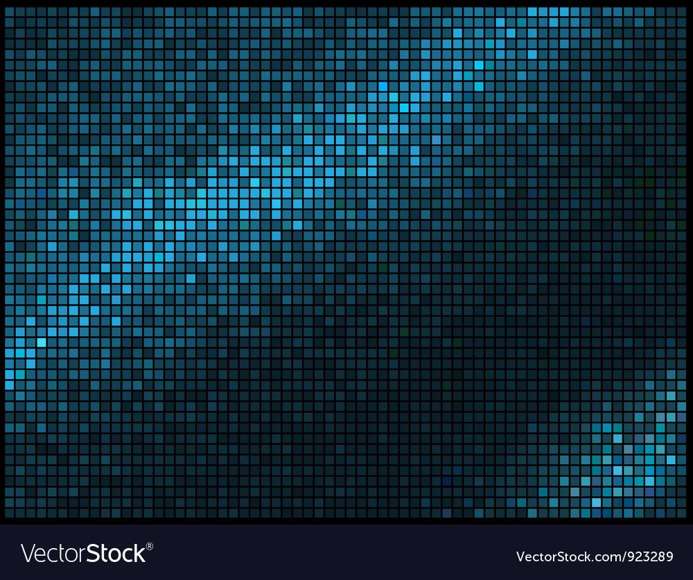 Abstract Lights Blue Multicolor Disco Background vector image