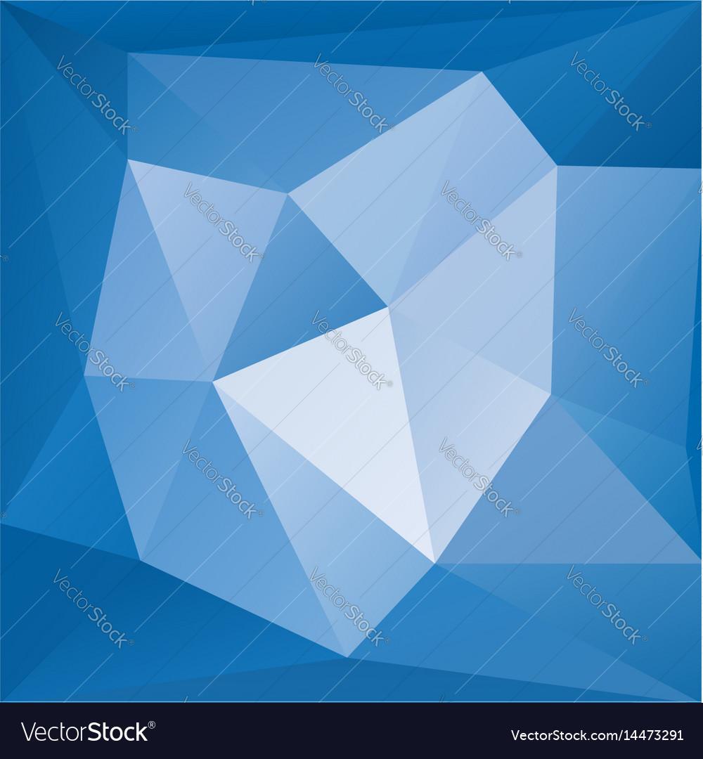 Blue fanstasy background vector image