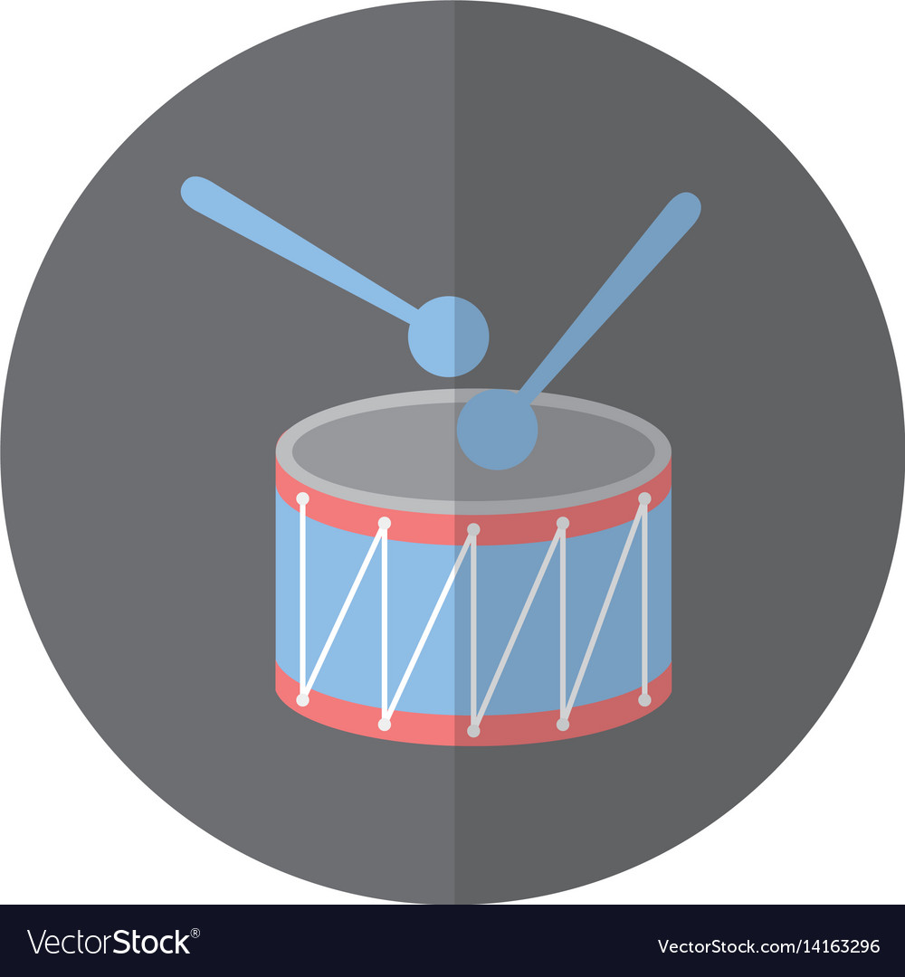 Drump instrument isolated icon vector image