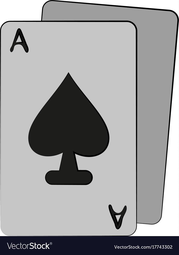 Ace of spades card icon image royalty free vector image ace of spades card icon image vector image biocorpaavc Choice Image