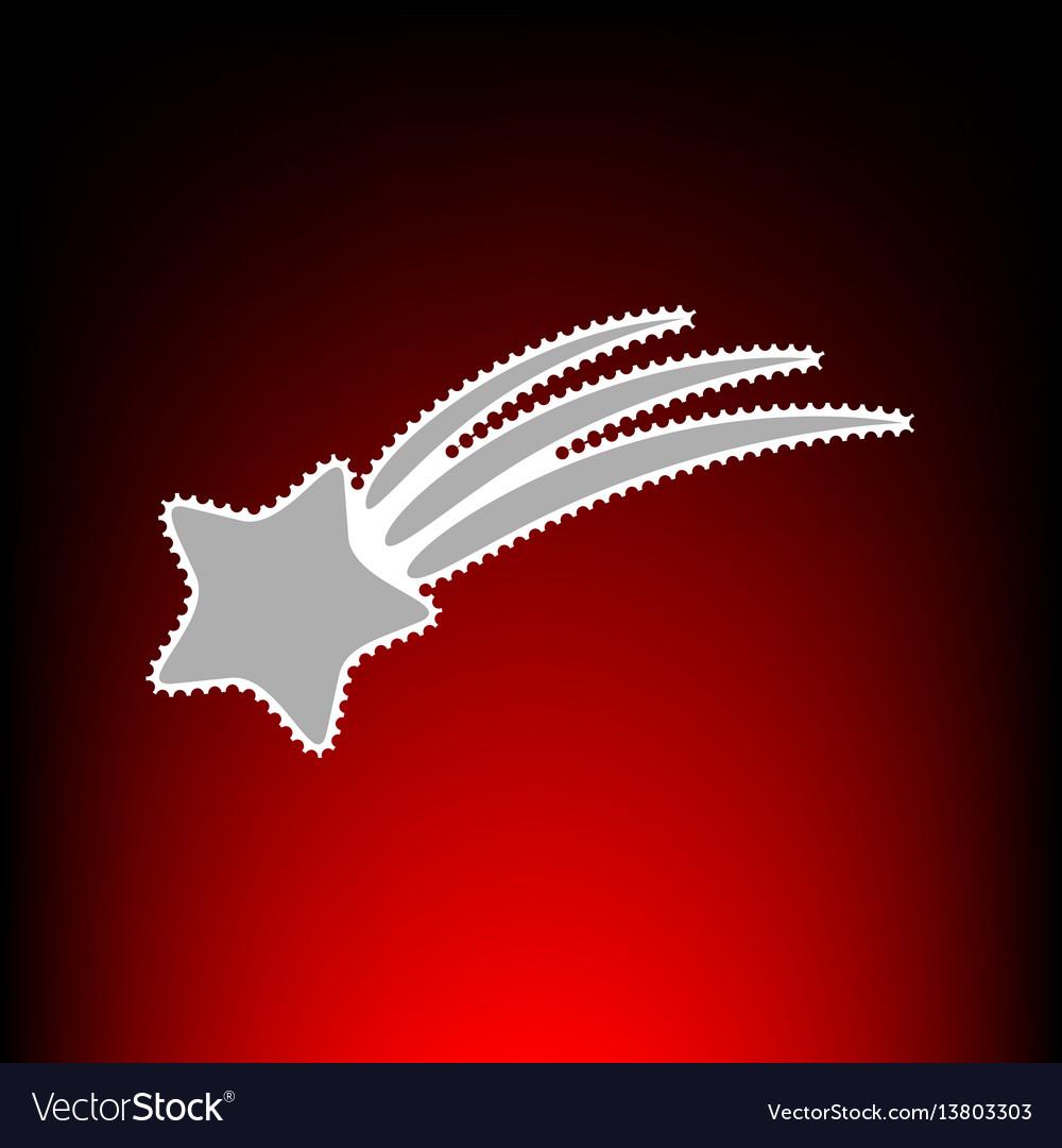 Shooting star vector image