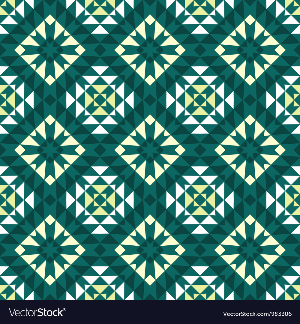 Vintage wallpaper pattern seamless background Vector Image