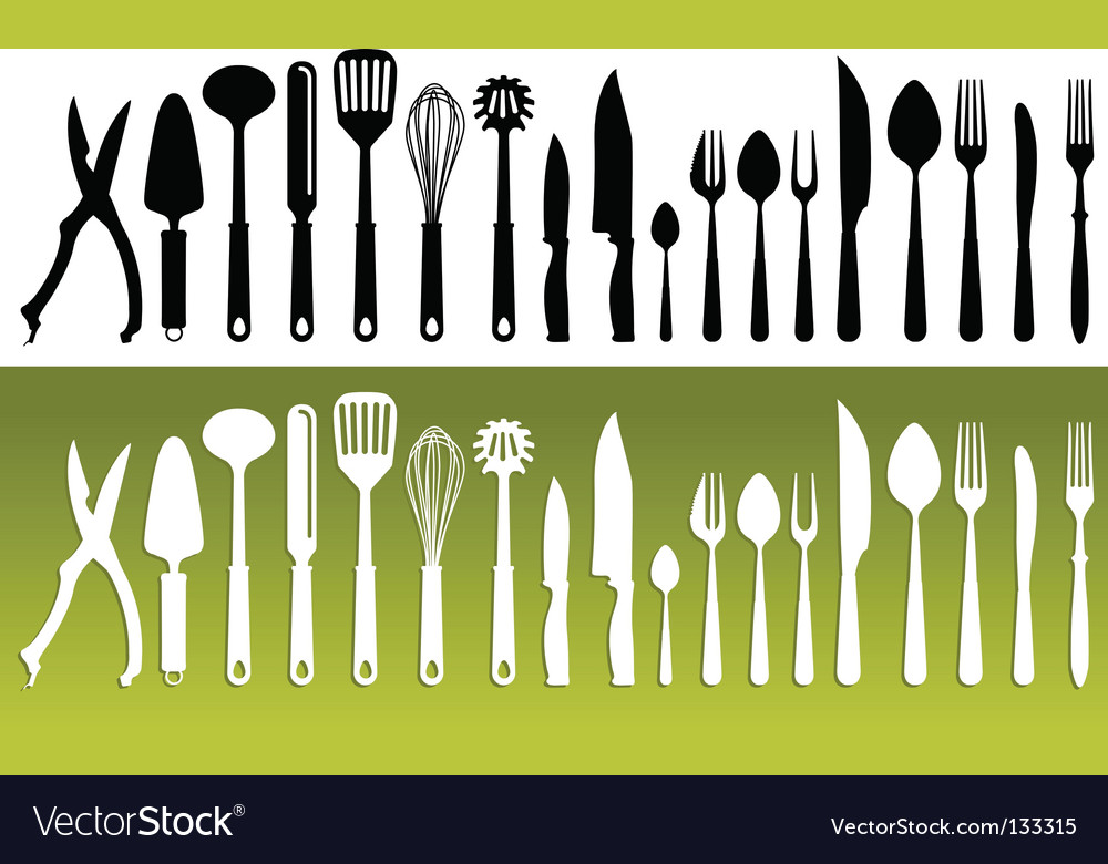 Kitchenwares vector image