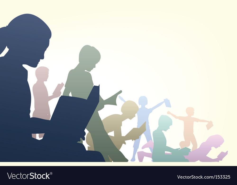 Book club Vector Image