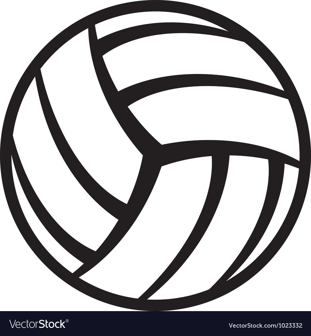 Volleyball ball Vector Image