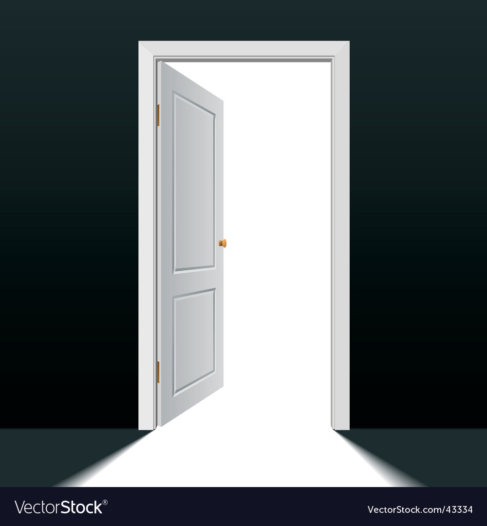 Doorway vector image