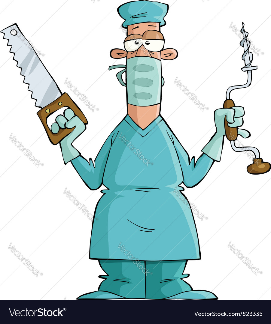 Surgeon Vector Image
