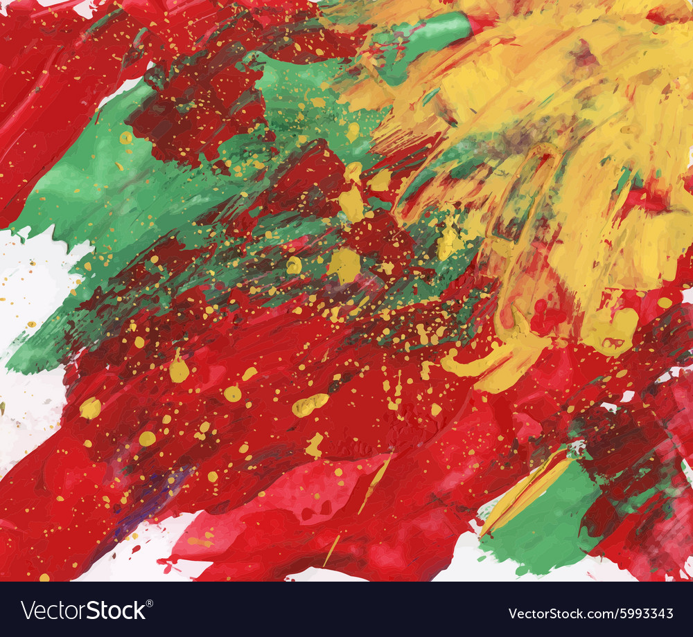 Colorful abstract watercolor texture vector image