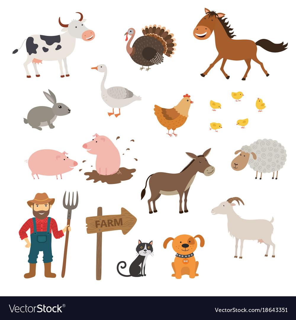 how to draw cute cartoon farm animals