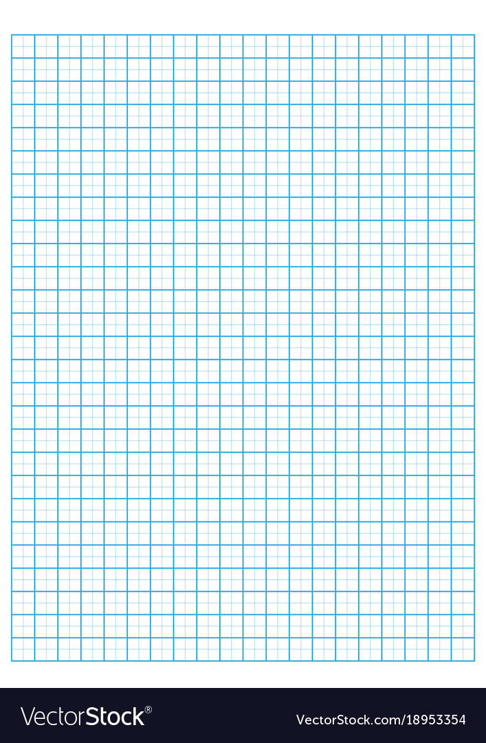 Engineering Graph Paper Printable Graph Paper Vector Image