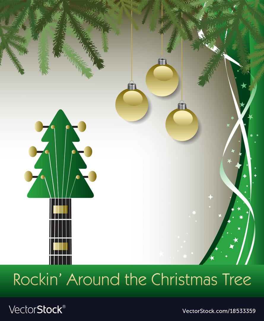 Christmas Tree Guitar