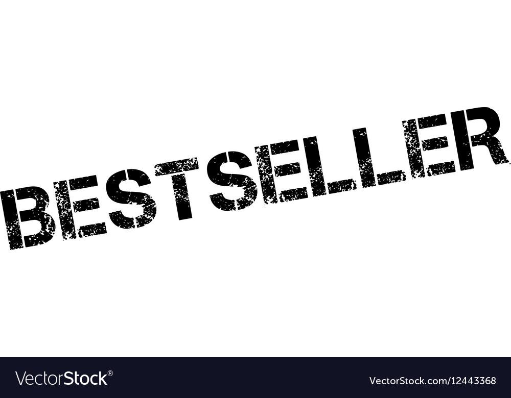 Bestseller rubber stamp vector image