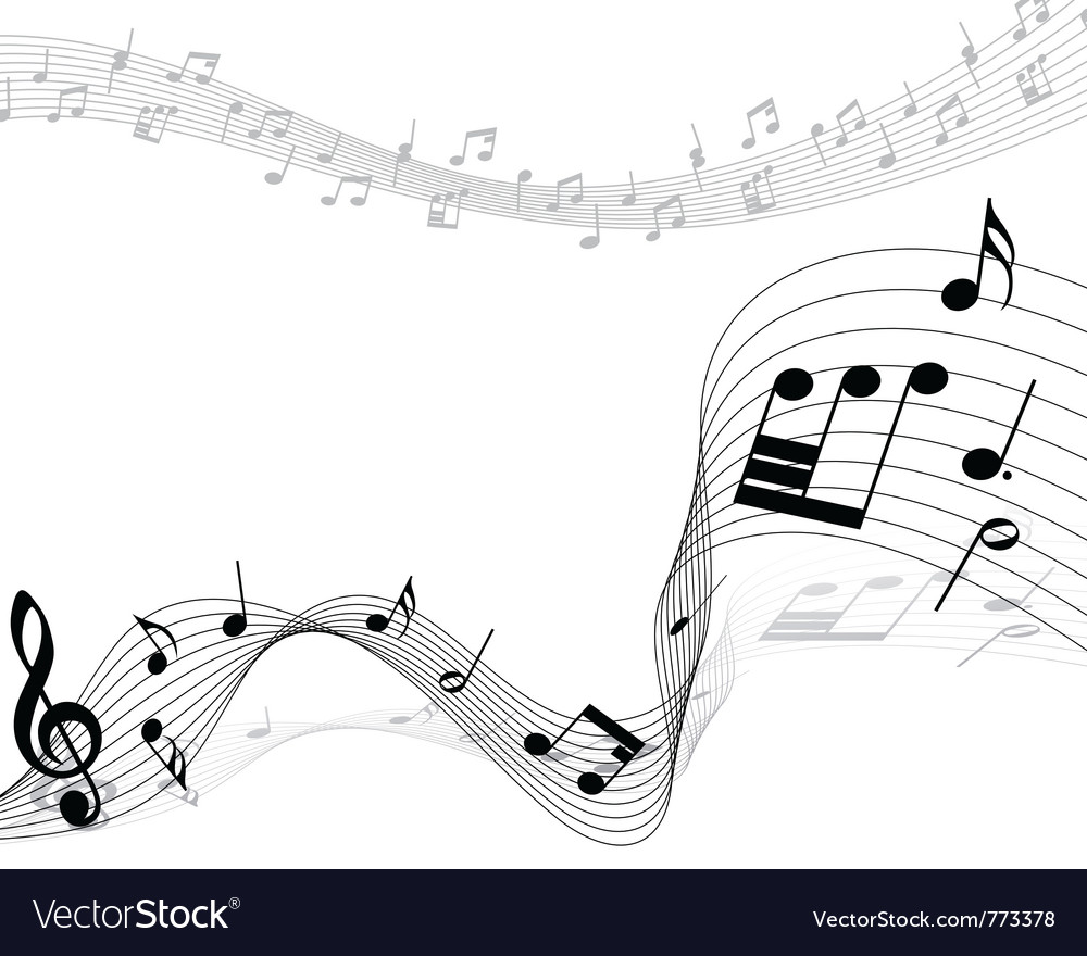musical notes background royalty free vector image