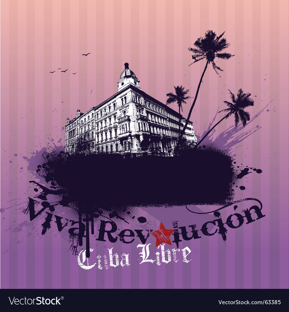Viva revolution illustration vector image