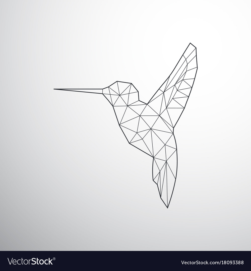 Bird geometric hummingbird vector images 54 biocorpaavc Images