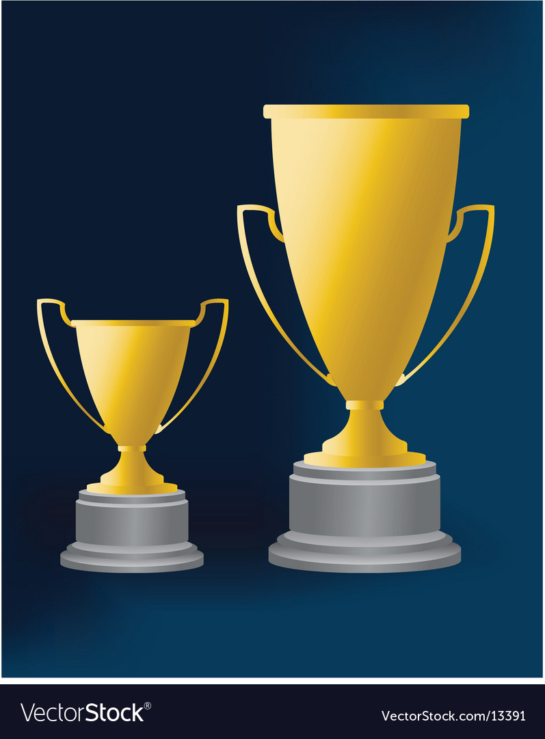 Trophy 4 illustration vector image