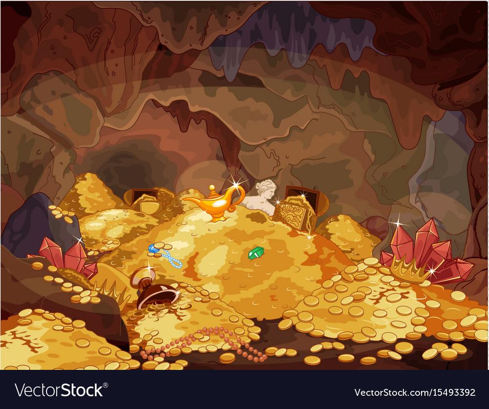 Treasury vector image