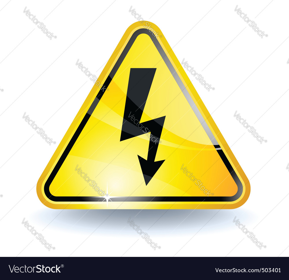 High voltage sign royalty free vector image vectorstock high voltage sign vector image buycottarizona