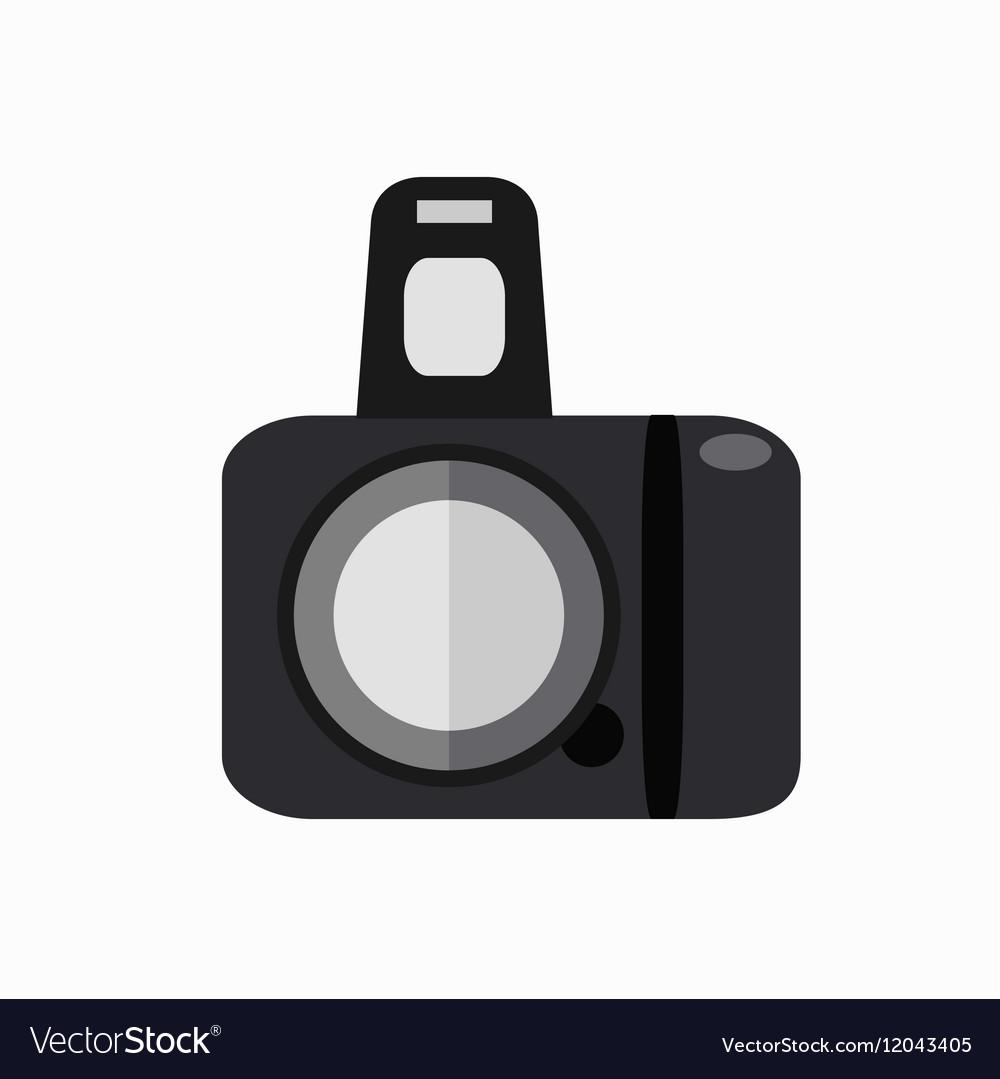 Colorfu photo camera vector image