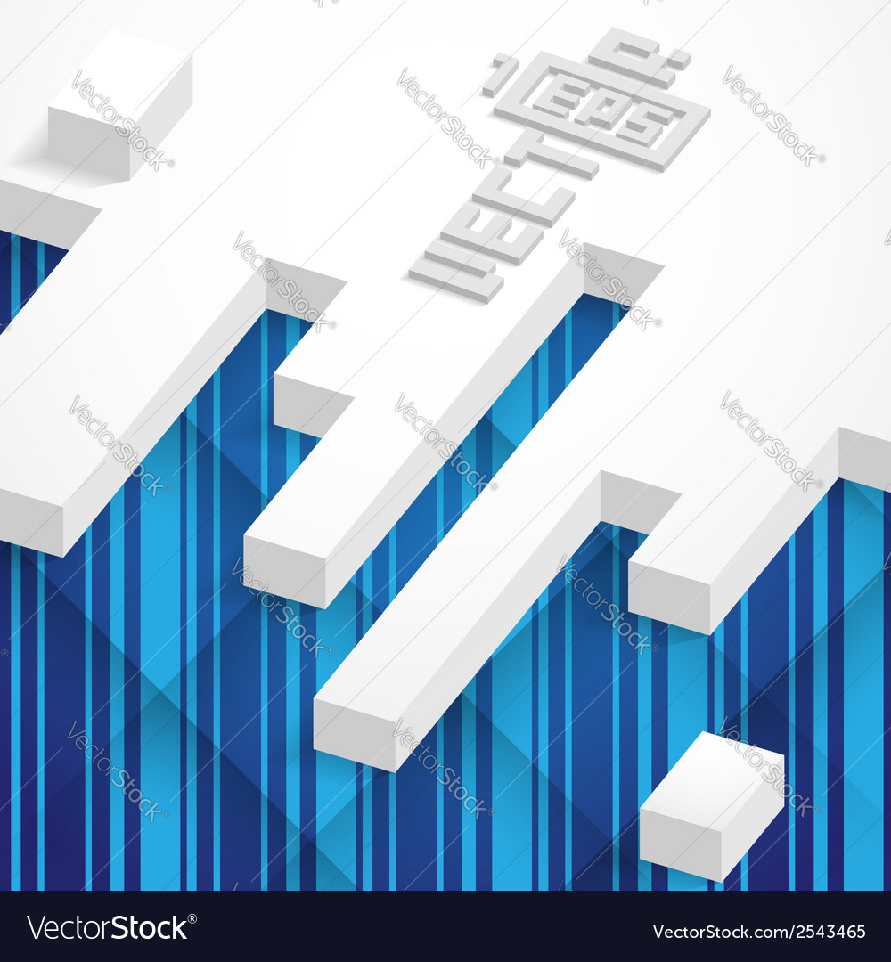 Abstract Geometrical Design vector image