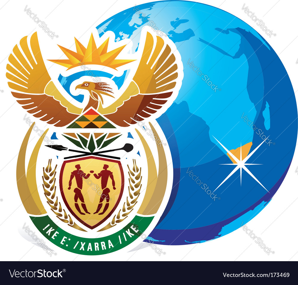 World cup in south Africa 2010 vector image