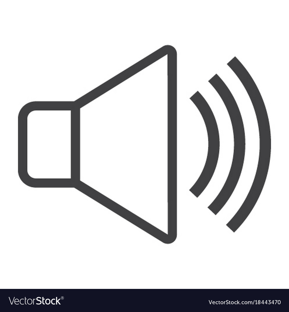 Sound line icon web and mobile voice sign vector image sound line icon web and mobile voice sign vector image buycottarizona