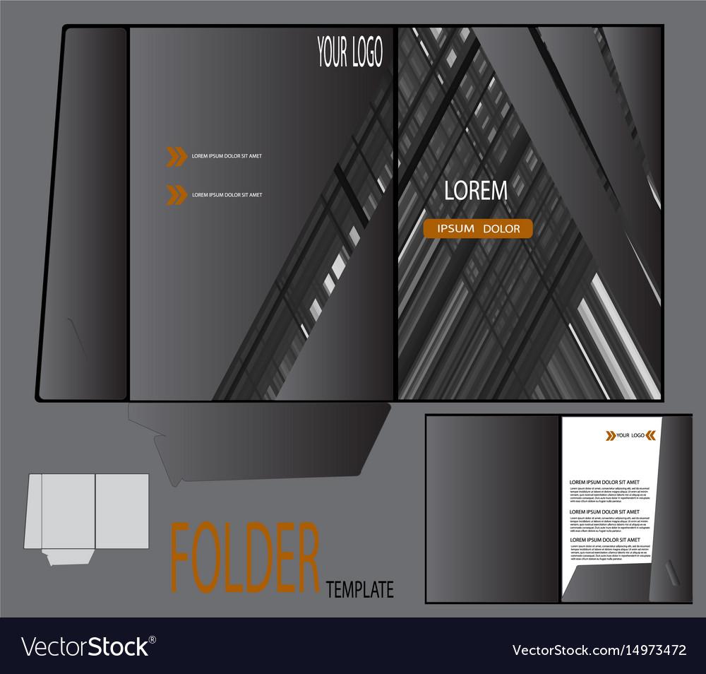 presentation folder template