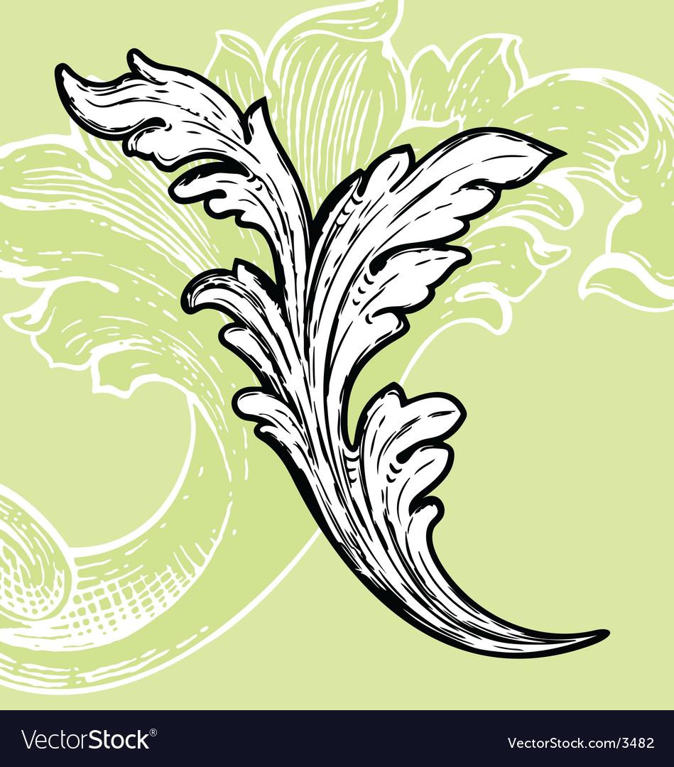 Cartouche vector image