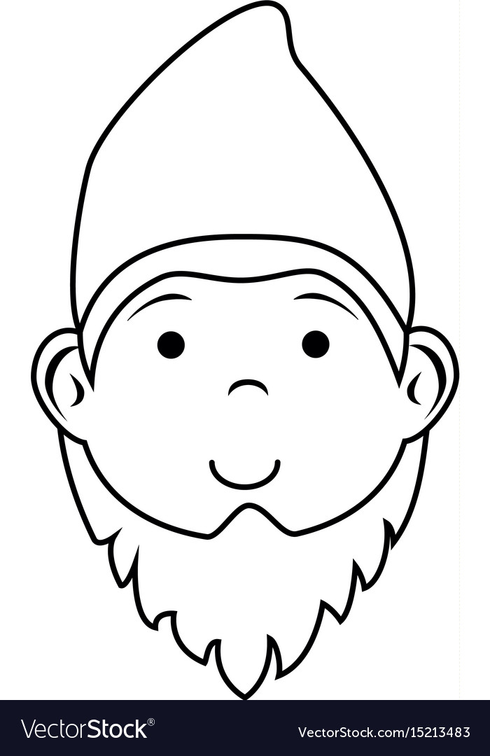 Gnome icon image vector image
