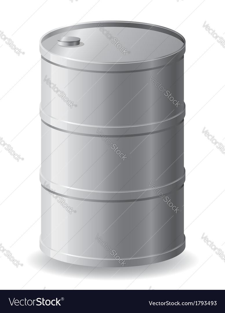 Barrel 01 vector image