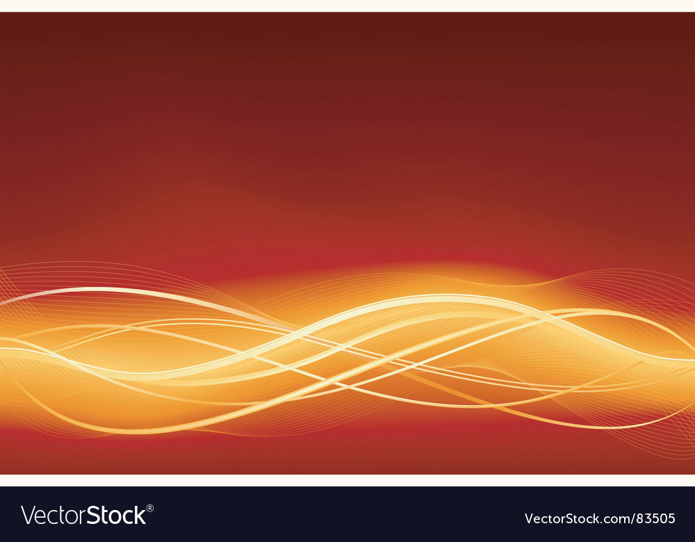 Glowing wave vector image