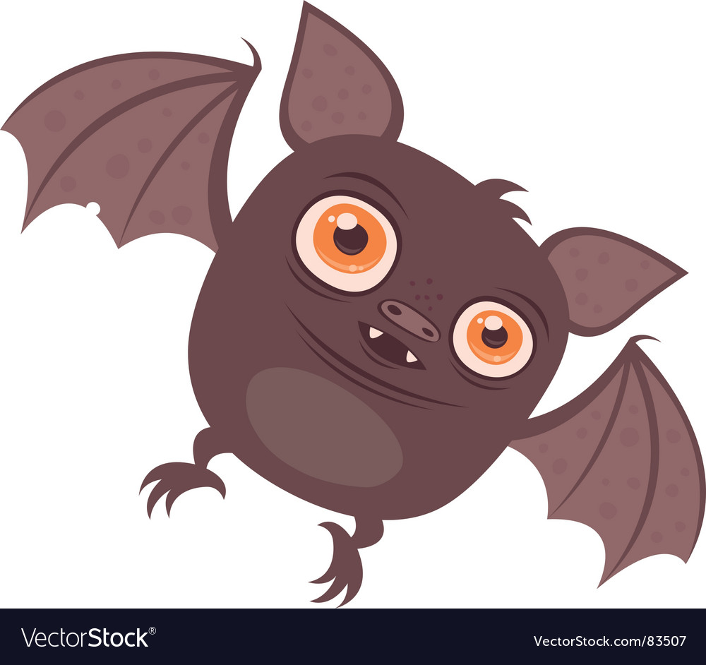Batty vector image