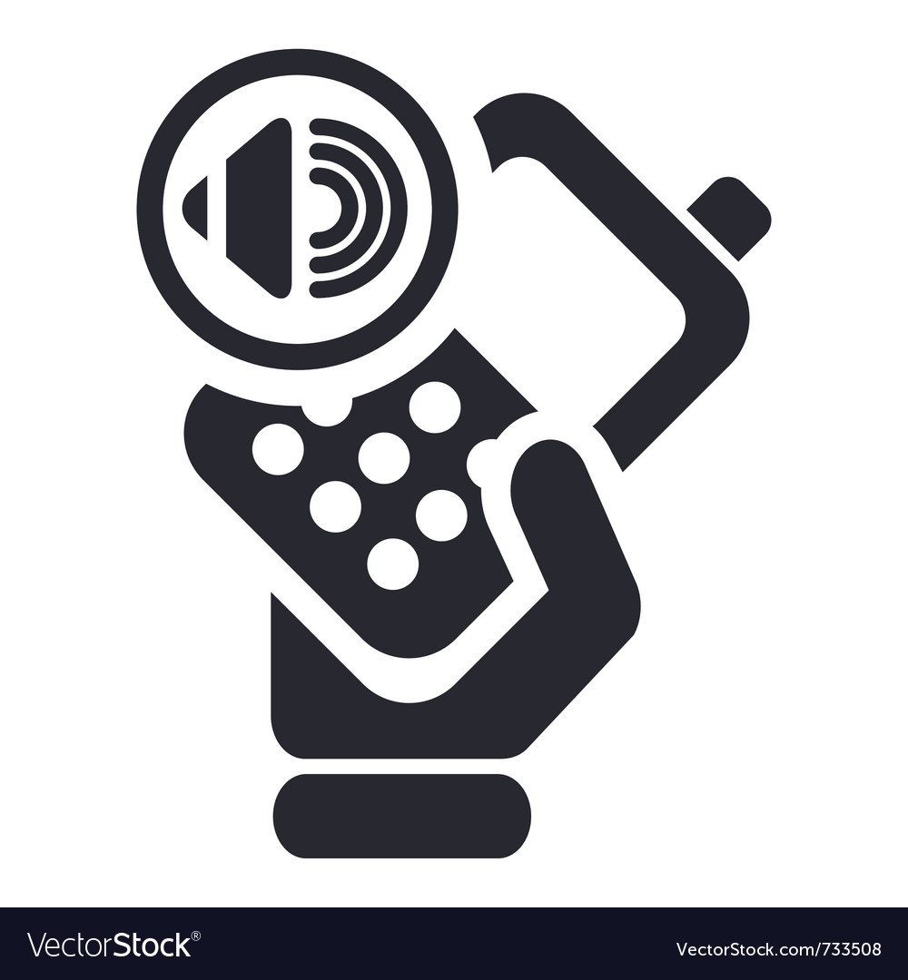Phone icon vector image