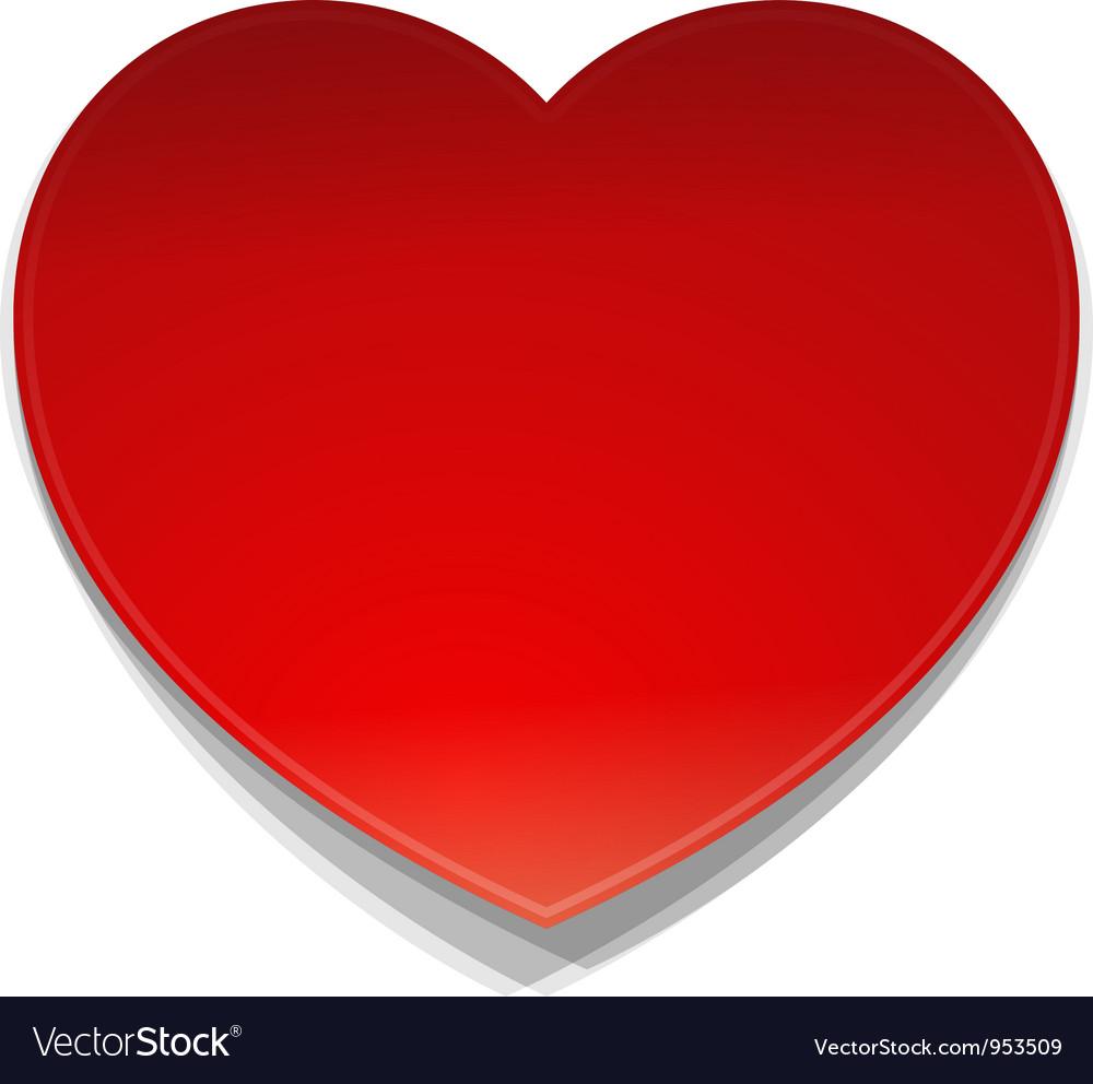 Heart Symbol vector image