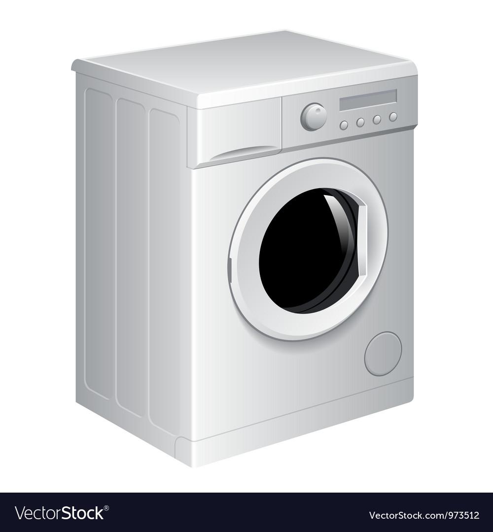 Washing Machine Vector Image Inside Inspiration