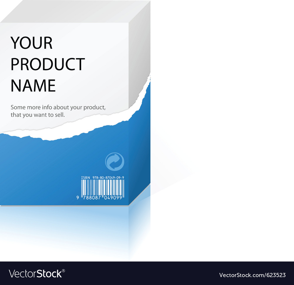 Product design Vector Image