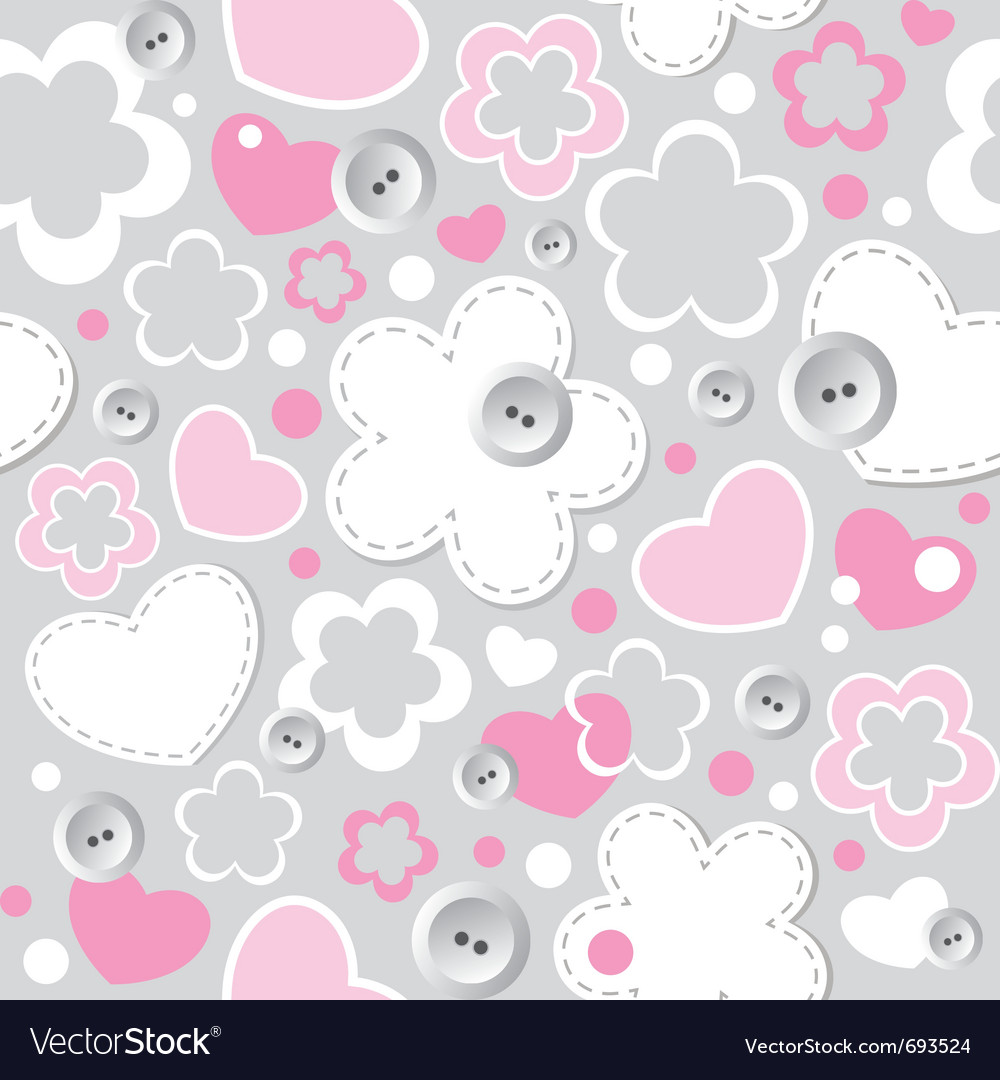 cute seamless pattern royalty free vector image