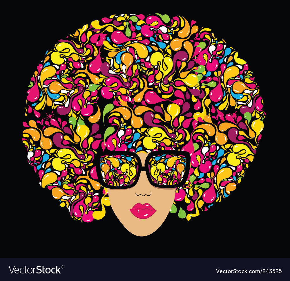 Disco print for t-shirt Vector Image