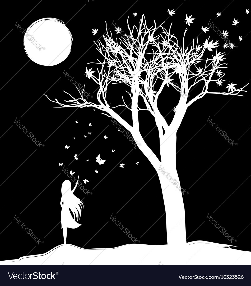 Farewell to dream vector image