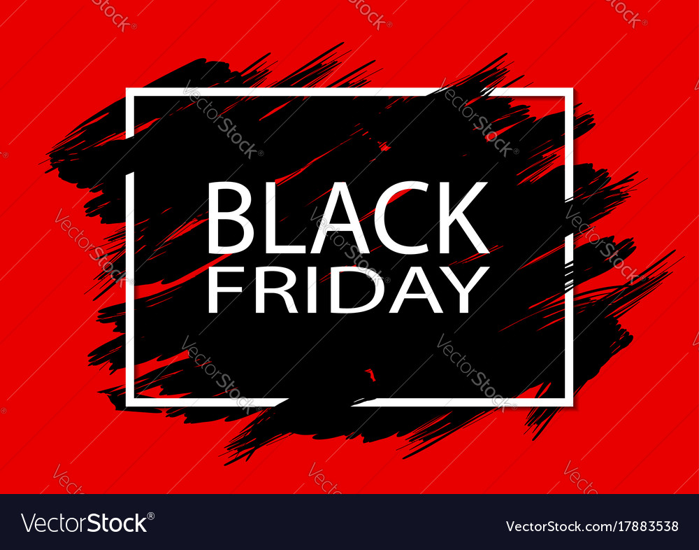 black friday sale abstract explosion black glass vector imag