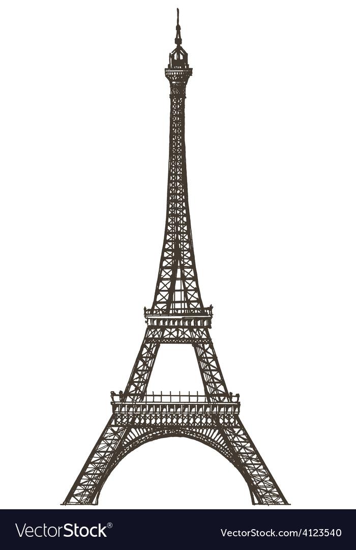 Eiffel tower logo design template paris or royalty free for Design paris