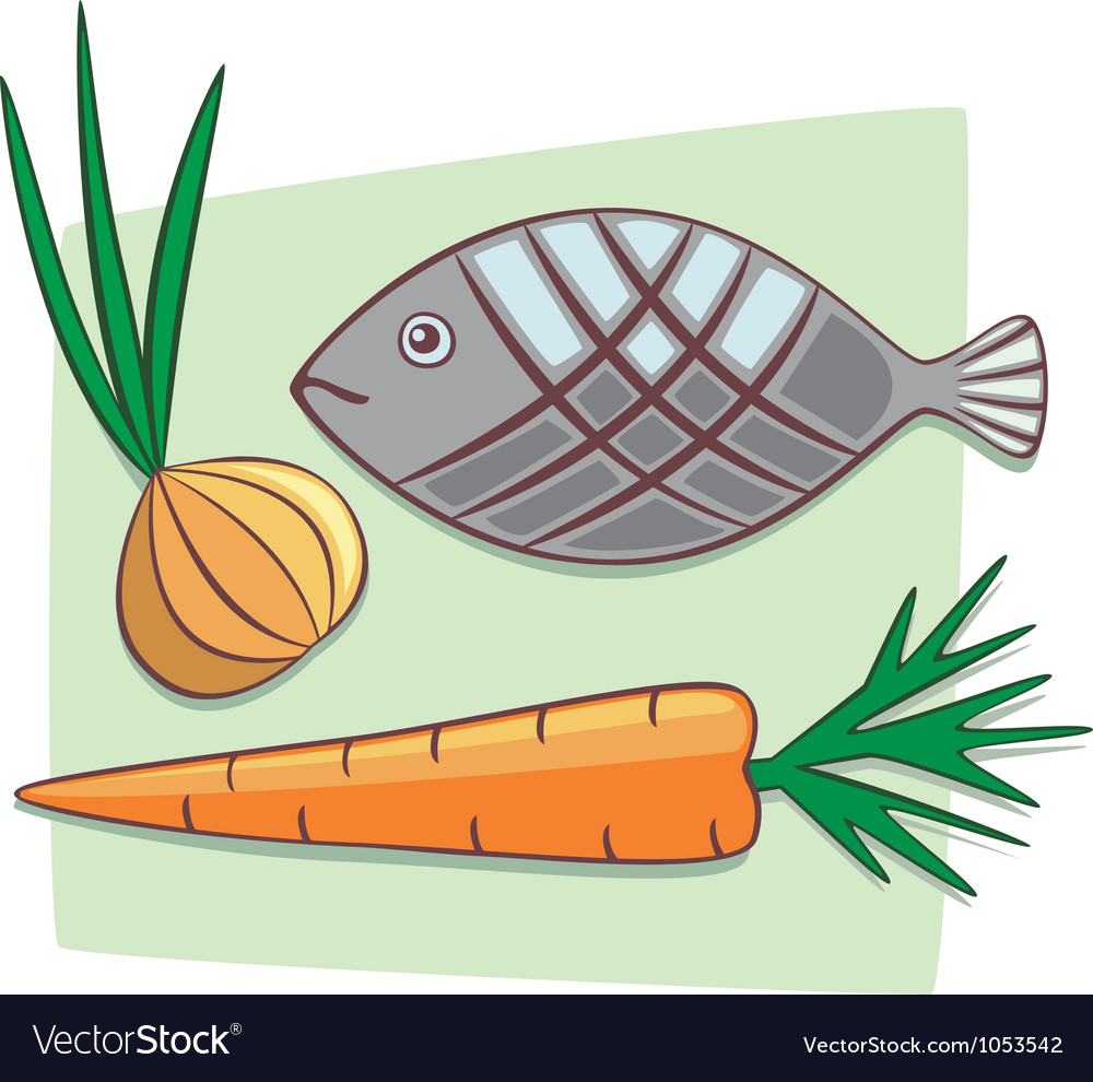 Ingredients vector image