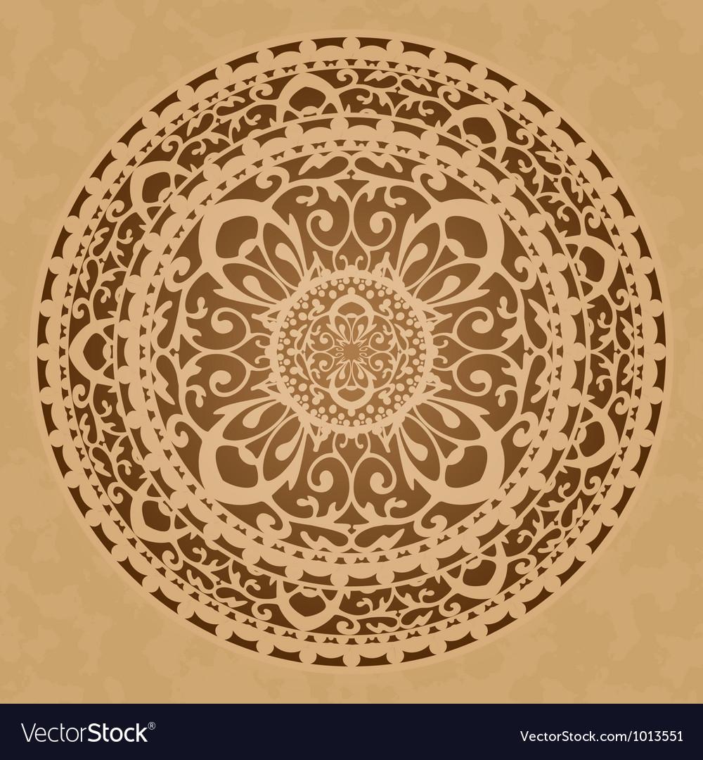Oriental decoration vector image