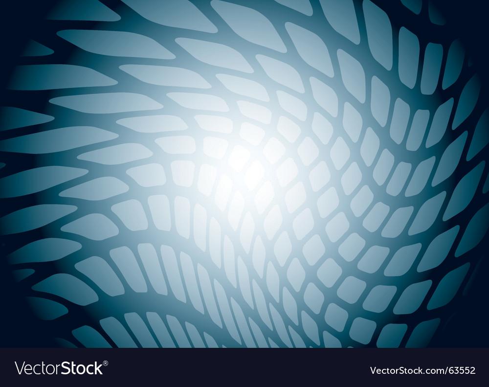 Modern mesh vector image