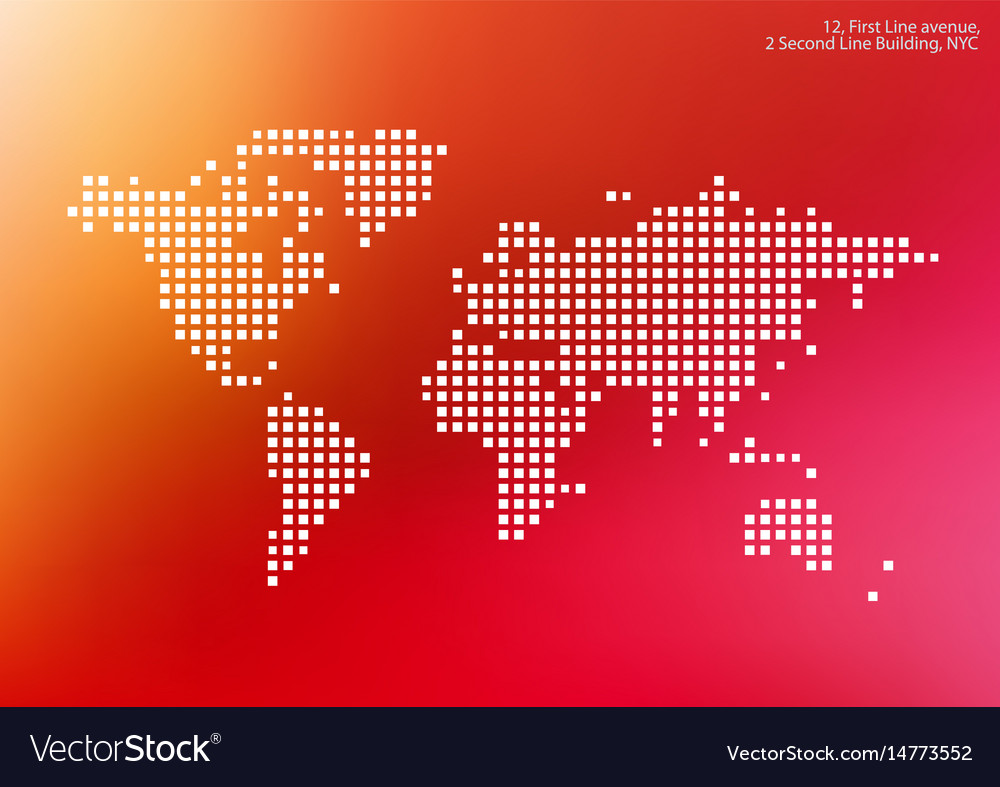 World map with squares rectangles for royalty free vector world map with squares rectangles for vector image gumiabroncs Images