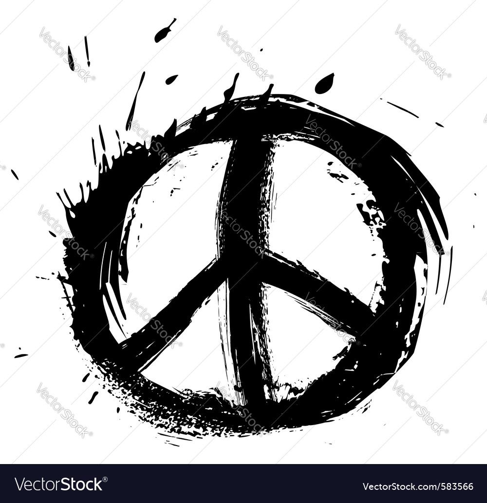 Peace symbol royalty free vector image vectorstock peace symbol vector image biocorpaavc Choice Image