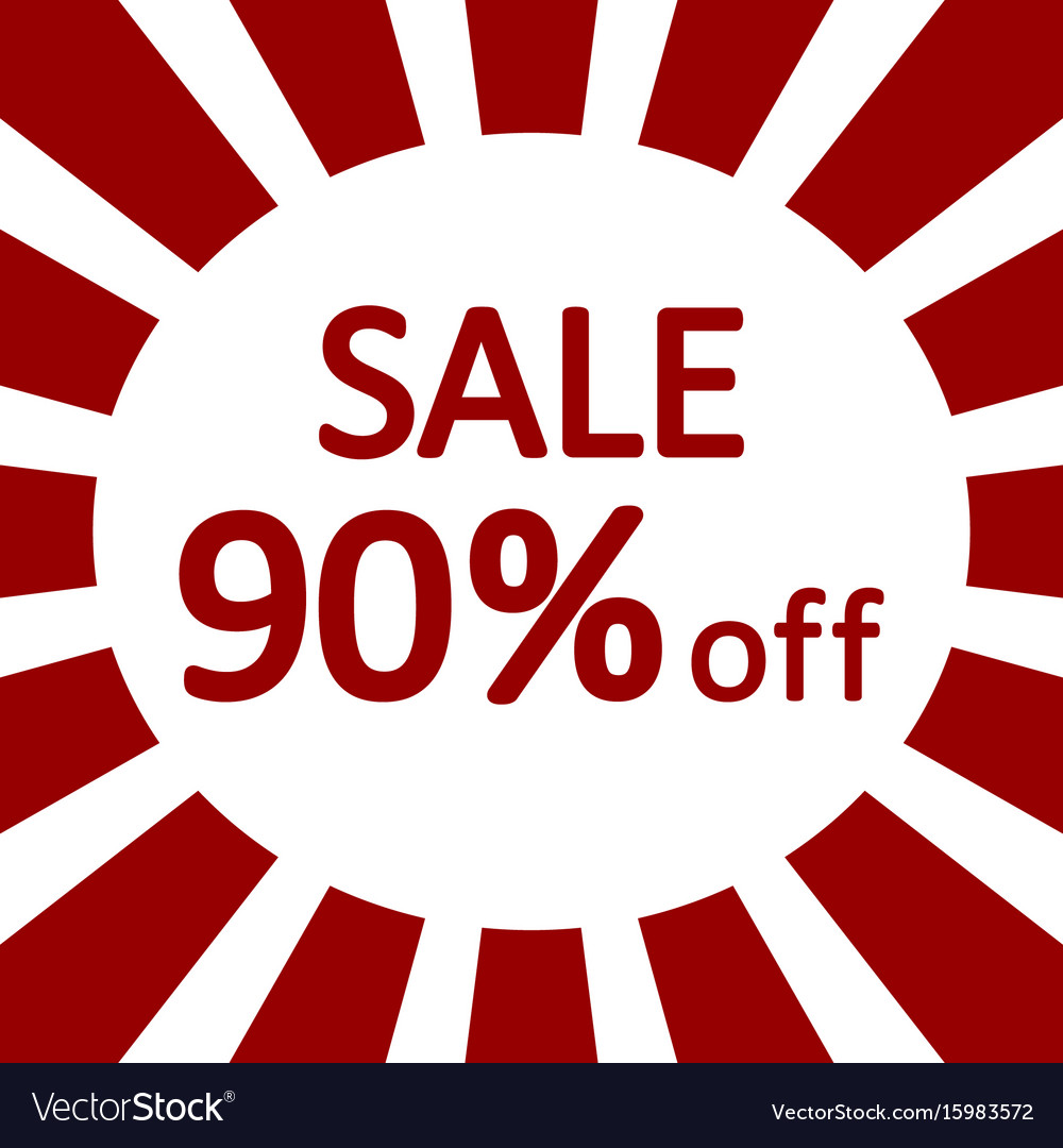 Store sale background vector image