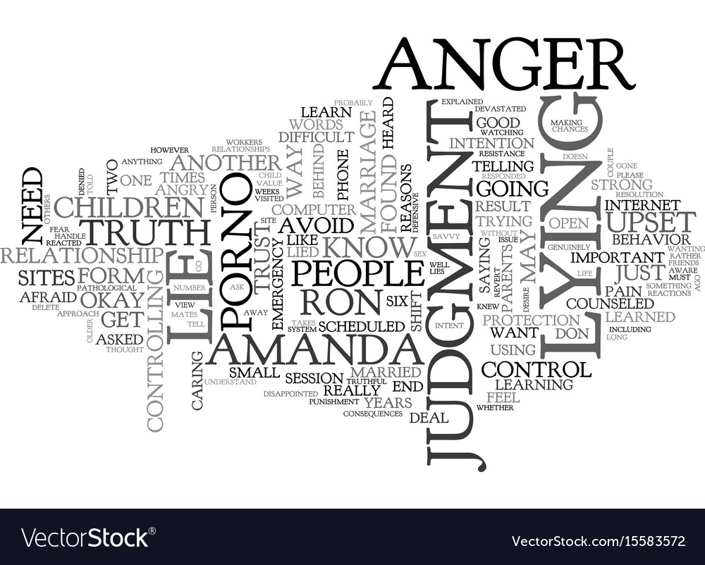 Why do people lie text word cloud concept vector image